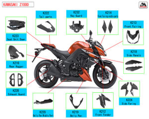 Carbon Fiber Motorcycle Parts for Kawasaki Z1000 pictures & photos