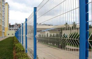 PVC Welded Wire Fence pictures & photos