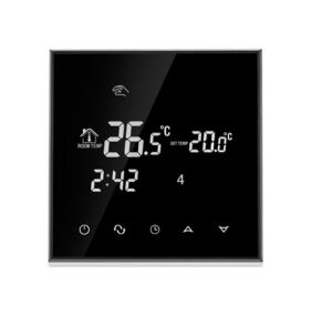 Programmable LCD Touch Screen Room Floor Heating Thermostat with Double Sensor pictures & photos