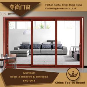 Aluminum/Aluminium Hanging Sliding Door with 3 Panels (Model Z-012) pictures & photos