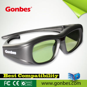 Bluetooth 3D HDTV Eyewear & Glasses for Samsung D Series TV (GBSG05-BT)