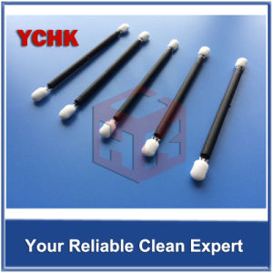 Cheap Price Professional Swab Manufacturer Foam Swab With Black Handle Double Head pictures & photos