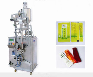 Abnormal Shape Liquid & Catsup Packing Machine (DXD-Y80T) pictures & photos
