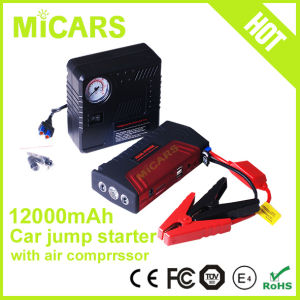 12V Emergency Car Jump Starter with Air Compressor