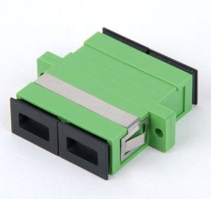 Sc Sm APC Dx Fiber Optic Adapter
