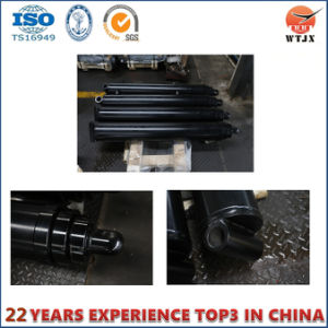 Front Mount Telescopic Hydraulic Cylinder for Vacuum Trucks and Trailers pictures & photos