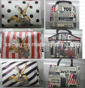 Promotional Cosmetic Bag with Fancy Printing