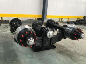 Germany Type Bogie Suspension Used Trailer Truck Trailer Suspension pictures & photos