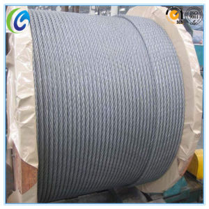 Electro Galvanized Steel Wire Rope 7X19 pictures & photos
