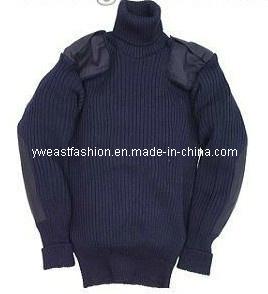 Navy Men′s Sweater/ Outdoor Sweater/ Sweater