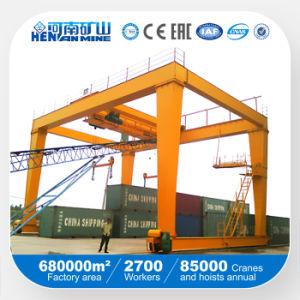 Rmg Rail Mounted 32/10ton 36/16ton 50/10ton Container Gantry Crane pictures & photos