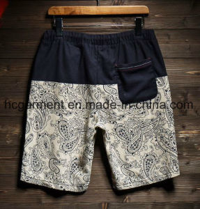 Linen Fabric Casual Pants, Beach Shorts for Man pictures & photos