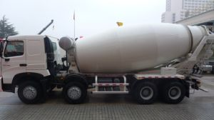 Sinotruk HOWO 14 M3 Concrete Mixer Truck with Low Price (ZZ1317N3261) pictures & photos