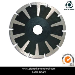 Diamond Turbo Cutting Small Saw Blade with Flange and Segments pictures & photos