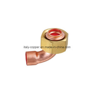 Customized Copper Solder Fitting with Brass Connector (AV-70027) pictures & photos