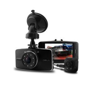 Allwinner Full HD 1080P Dual Camera Car DVR with G-Sensor+Night Vision+Rear Camera pictures & photos