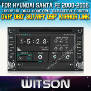 Witson Special Car Radio with GPS Hyndai Santafe (W2-D8900Y) pictures & photos