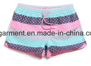 Strip/Solid 4 Way Fabric Quickly Dry Beach Wear, Board Shorts for Women/Lady pictures & photos