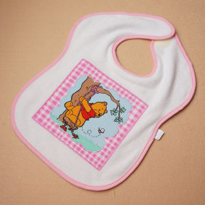 Custom Printed Applique Eco-Friendly Lovely Baby Bibs pictures & photos