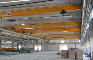 Widely Used Single Girder Overhead Crane with Electric Lifting Equipment pictures & photos