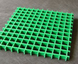 Glass Fiber-Reinforced Plastic Anti-Slip FRP Grating pictures & photos