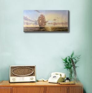 Wall Decoration of Saling Boat Painting pictures & photos