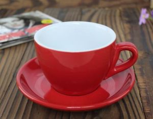 150ml Customize Color Coffee Cup Ceramic Latte Cup pictures & photos