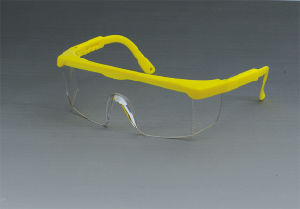 Safety Glasses for Working (JK12003-Yellow+Clear) pictures & photos