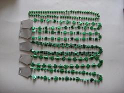 St. Patrick′s Shamrock Necklace
