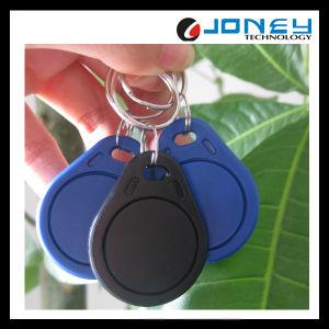 125kHz/13.56MHz Access Control Blue RFID Keyfob pictures & photos