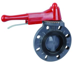 Hand Wheel UPVC Butterfly Valve pictures & photos