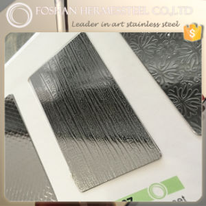 0.8mm 4 8 Feet Embossed Stainless Steel Sheet for Kitchen Decoration pictures & photos