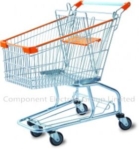 Best Selling Supermarket Shopping Trolley Made in China pictures & photos