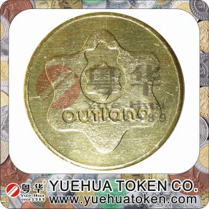 2014 New High Quality Aluminium Token pictures & photos