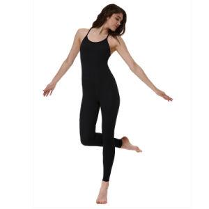 Fitness Wear Nylon Yoga Pants Black Leggings Women′s Tank Top pictures & photos