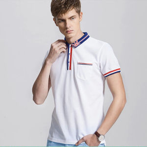Men`S Custom Embroidered Polo Shirt Made in China pictures & photos