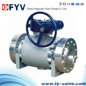 High-Pressure Forged-Steel Trunnion Mounted Ball Valve pictures & photos