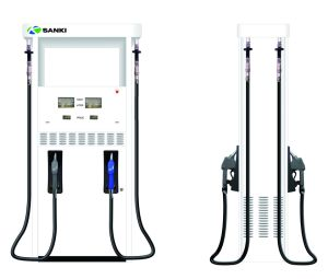 Sanki Fuel Dispenser Sk52 Fuel Pump with Four Nozzle pictures & photos