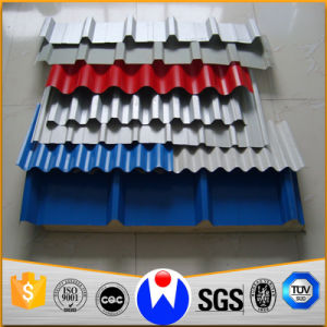 Corrugated Sheet Prepainted Color Coated Galvanized Steel Sheet pictures & photos