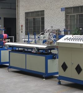 Competitive Double Color Polycarbonate Lampshade Plastic Extruding Producing Machine pictures & photos