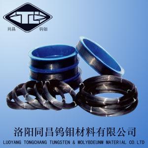 Best Sale Wre3/25 Coiled Rhenium Tungsten Wire 19.2g/cm3 in Black Surface pictures & photos