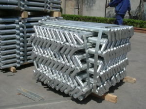Hot-DIP Galvanized Stanchion with CE Approval pictures & photos