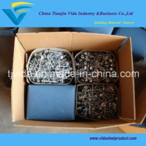 Smooth Shank Umbrella Head Roofing Nails pictures & photos