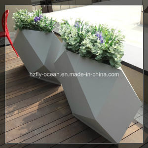 Fo-9046 Metal Brushed Garden Plant Pot pictures & photos