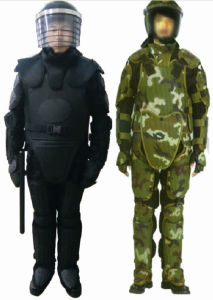 Military Anti-Riot Suit for Police Man/High Quality Anti-Riot Suits pictures & photos