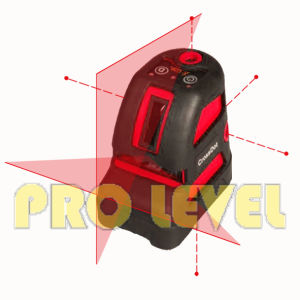 Five-Point Cross Self-Leveling Laser Level pictures & photos