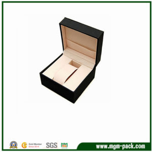Elegant Plastic Watch Box with Pillow for Wristwatch pictures & photos