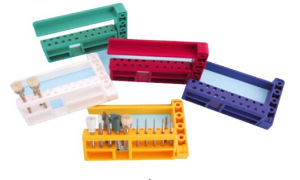 Colored Bur Holder Used in Dental Treatment pictures & photos