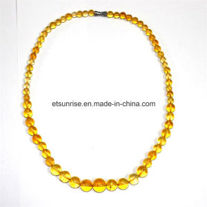 Semi Precious Stone Crystal Cintrine Necklace pictures & photos
