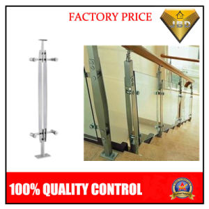 Stainless Steel Stair Parts Handrail System / Glass Railing (JBD B90)